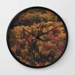 Landscape in Canada - Autumn Wall Clock