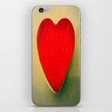 Rain on my heart iPhone & iPod Skin