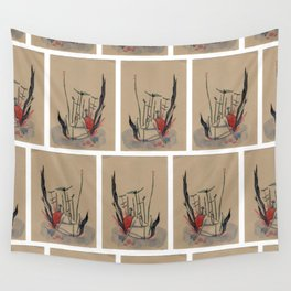 The nymphea - liliwater - girl Wall Tapestry