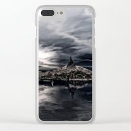 Abendruhe Clear iPhone Case