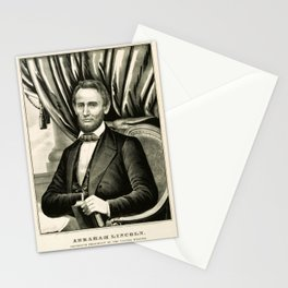 Abraham Lincoln - Sixteenth President of the United States Stationery Cards