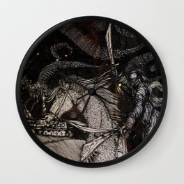 Arabian Knight Wall Clock