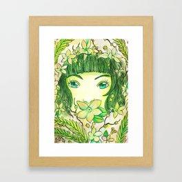 Colour Theme - Green Framed Art Print