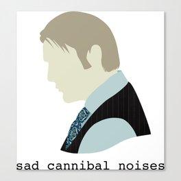 Sad Cannibal Noises Canvas Print