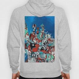 143. City Abstract 5 Hoody