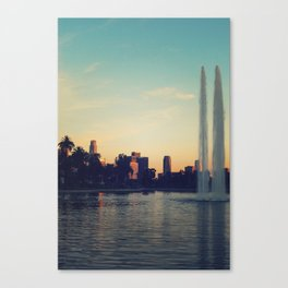 Echo Park Post Card Canvas Print