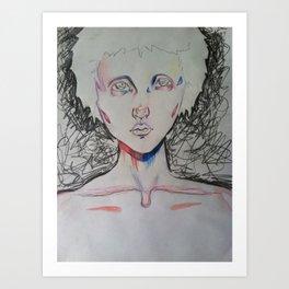 Scribble Art Print