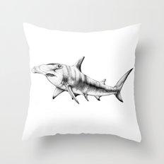 Hammerhead Shark Throw Pillow