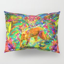 The Laser Focus of Couger Conciousness Pillow Sham