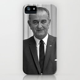 President Lyndon Johnson iPhone Case