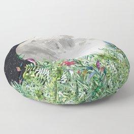 Night Garden Moon Magick Floor Pillow