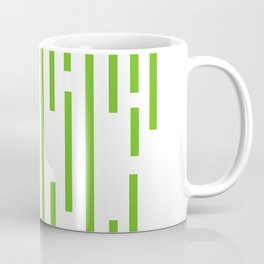 Minimalist Lines – Green Coffee Mug