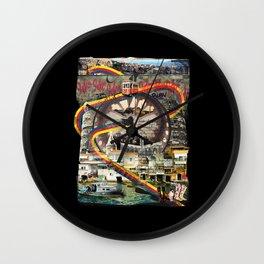 Tourist Trap Wall Clock