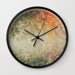 Spring II Wall Clock