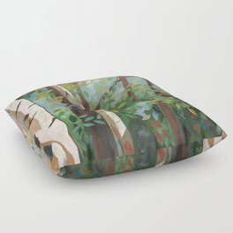 Discover Peace Floor Pillow