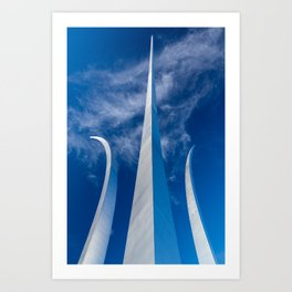 Steel Spires Toward Heaven Art Print