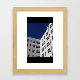 LA Lines Framed Art Print