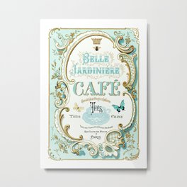 Belle Jardiniere Metal Print