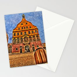 Oath House Ulm, Germany ( local history museum ) Stationery Cards