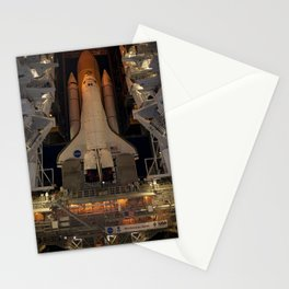 661. Space Shuttle Atlantis Stationery Cards