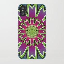 Growth Mandala - מנדלה צמיחה iPhone Case