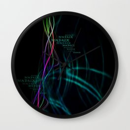 Matrix Energy Flow (Layout by ACCI) Wall Clock