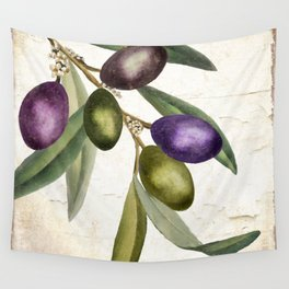 Olive Branch I Wall Tapestry