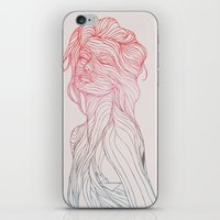 huebucket iPhone & iPod Skins featuring Someplace Beautiful by Huebucket