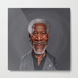 Celebrity Sunday ~ Morgan Freeman Metal Print