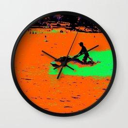 Summer Jetting - Jet Ski Fun Wall Clock
