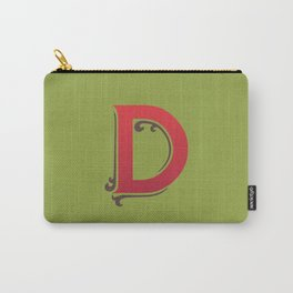 Uppercase D Carry-All Pouch
