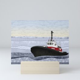Tugboat Mini Art Print