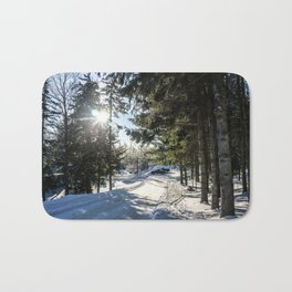 Snow Is Here Bath Mat
