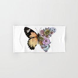 Butterfly in Bloom II Hand & Bath Towel