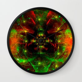 Crab Stardust- The Mind Explodes Wall Clock