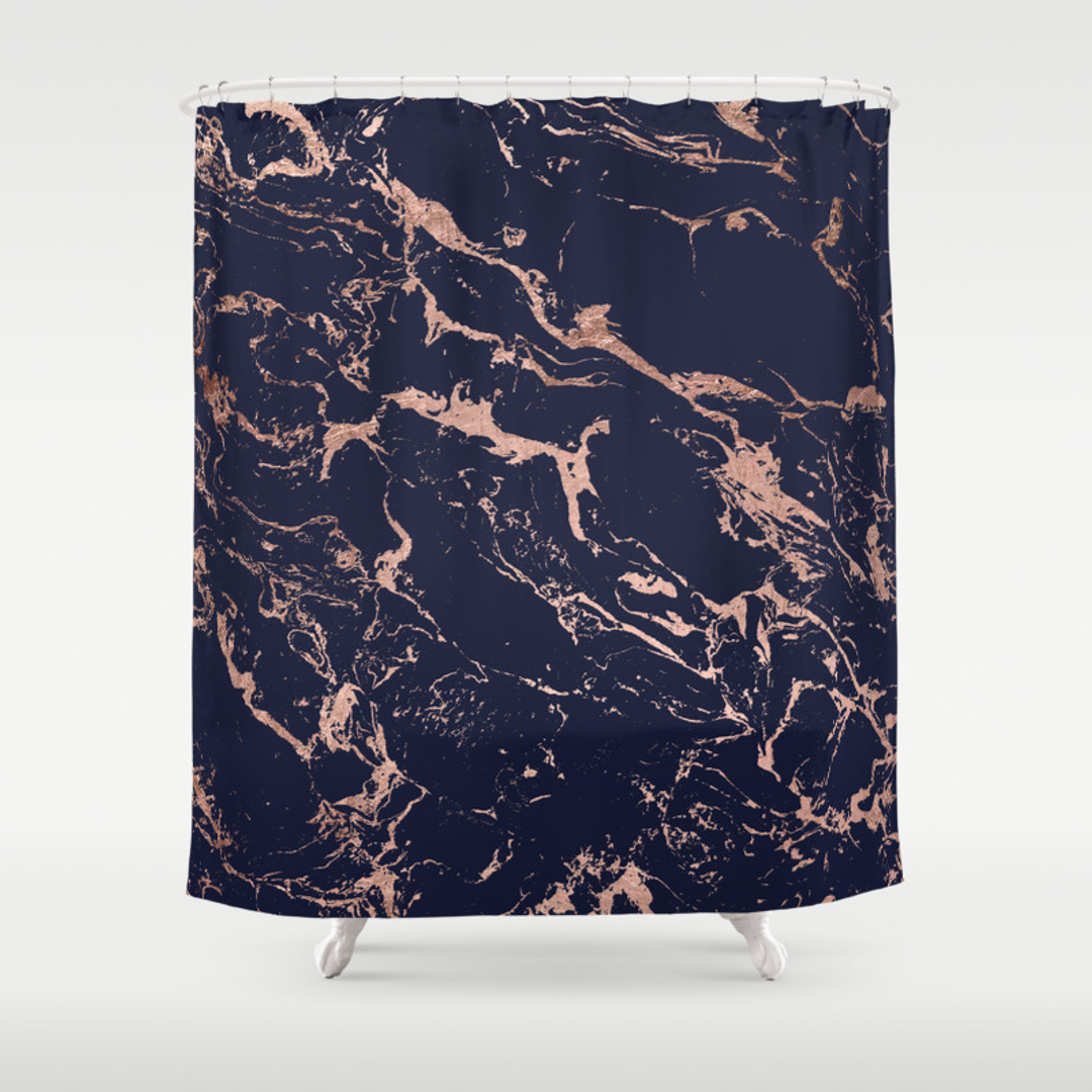 Navy blue patterned curtains - Navy Blue Patterned Curtains 31