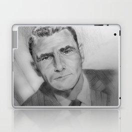 Rod Serling portrait Laptop & iPad Skin