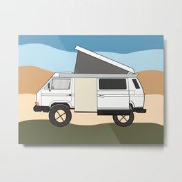 Van Metal Print