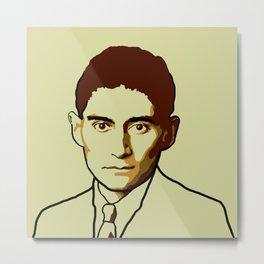 Franz Kafka Metal Print