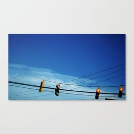 RED, RED, BACK & BACK Canvas Print