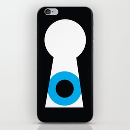 Eyehole iPhone Skin