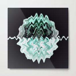 Brain Waves... Metal Print