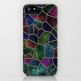 Mosaic LORA,multicolor iPhone Case