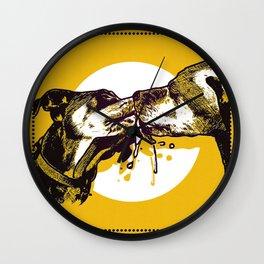 Dog Days Wall Clock