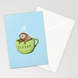 Sloffee Steam Stationery Cards