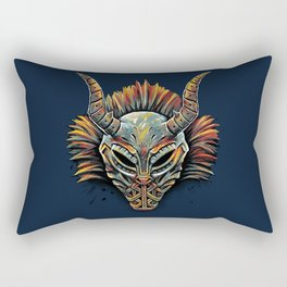 Killmonger Tribal Mask Rectangular Pillow