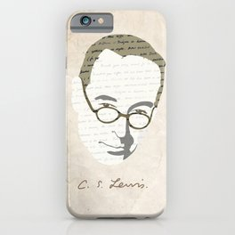 C.S. Lewis iPhone Case