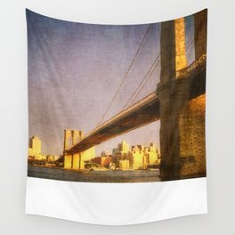 Sun Sets on Brooklyn Wall Tapestry