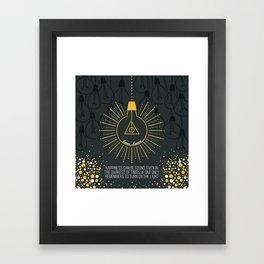 Lumos Maxima Framed Art Print