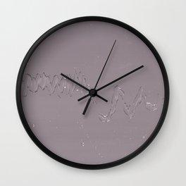 Light Zig—Water Wall Clock